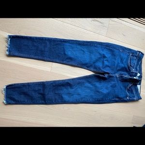 RAG and BONE blue jeans size 28